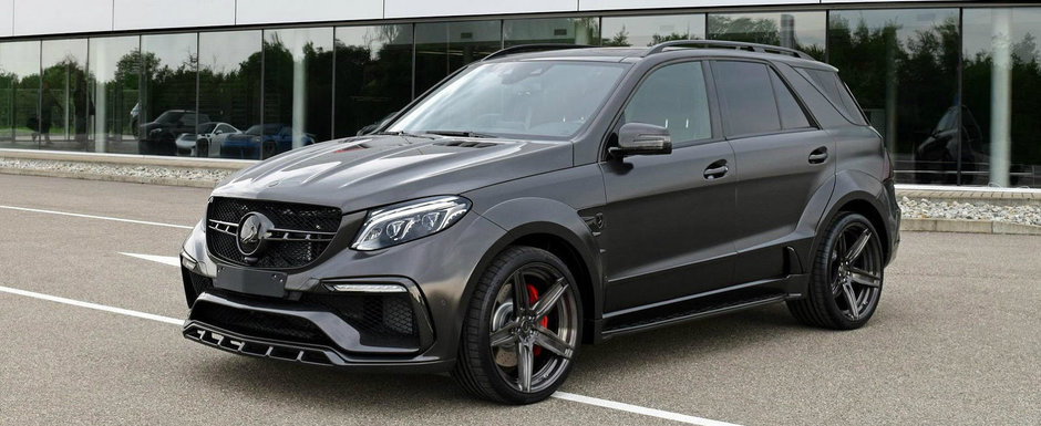 TopCar si Mercedes-urile AMG fac casa buna. Ultima creatie este un GLE 63 S de 245.000 de dolari