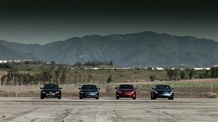 Topless Drag Race: Audi A5 vs. BMW Seria 3 vs. Lexus IS vs. Infiniti G37