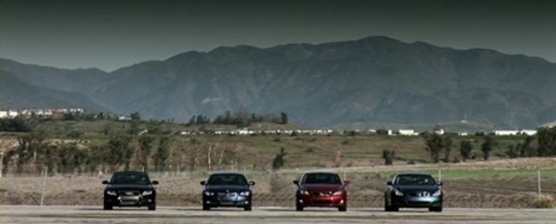 Topless Drag Race: Audi A5 vs. BMW Seria 3 vs. Lexus IS vs. Infiniti G37