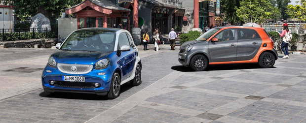 Tot ce trebuie sa stii despre noile Smart ForTwo si ForFour