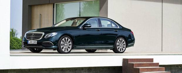 Tot ce trebuie sa stii despre noul Mercedes E-Class, masina pe care o poti parca si porni cu telefonul mobil