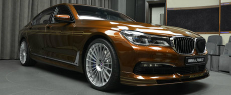 Toti au ramas cu gura cascata cand au vazut acest BMW Seria 7 modificat de Alpina.