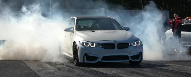 Toti credeau ca au de-a face cu un BMW M3 stock. Dar sedanul are 1.000 de cai putere...la roata