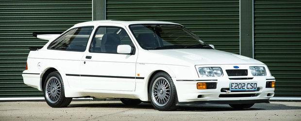 Toti se asteaptau sa se vanda pentru o suma record. Care-i povestea acestui Ford Sierra Cosworth RS500