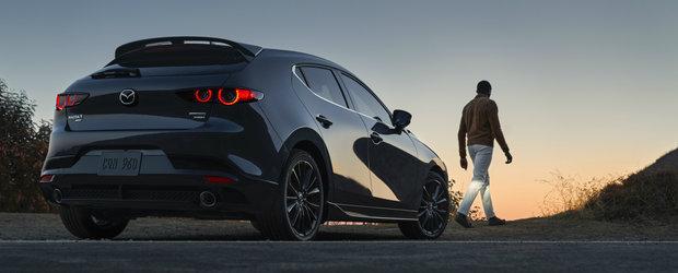 Toti sunt curiosi cat e de rapida, acum ca are motorizare turbo. Test de acceleratie cu noua Mazda3 de 250 CP