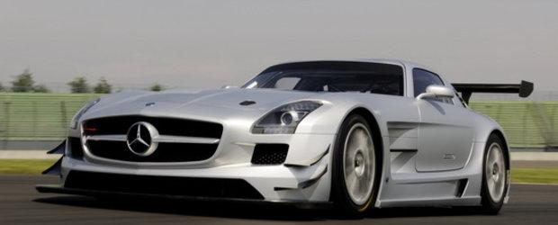 Totul are un pret: Peste 500.000 dolari pentru noul Mercedes SLS AMG GT3