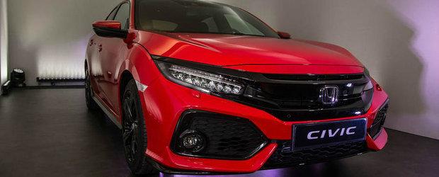 Totul porneste de la cateva bucati de metal. Uite cum se fabrica, cap-coada, noua Honda Civic!