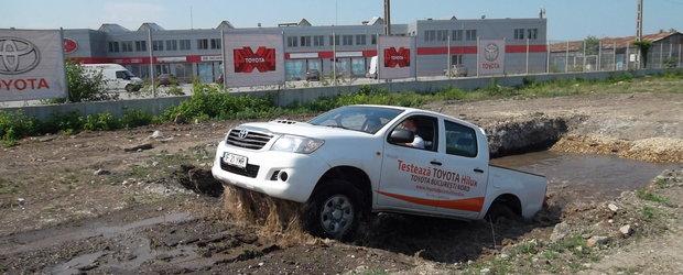 Toyota 4X4 Track, primul loc permanent destinat masinilor de teren din Bucuresti