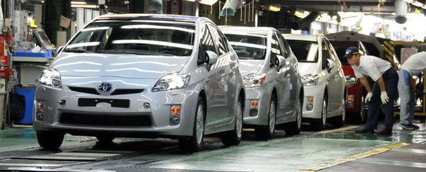 Toyota a fabricat masina cu numarul 200 de milioane
