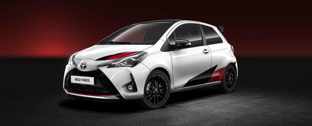 Toyota arata sange-n instalatie: japonezii anunta un rival de 210 CP pentru Fiesta ST