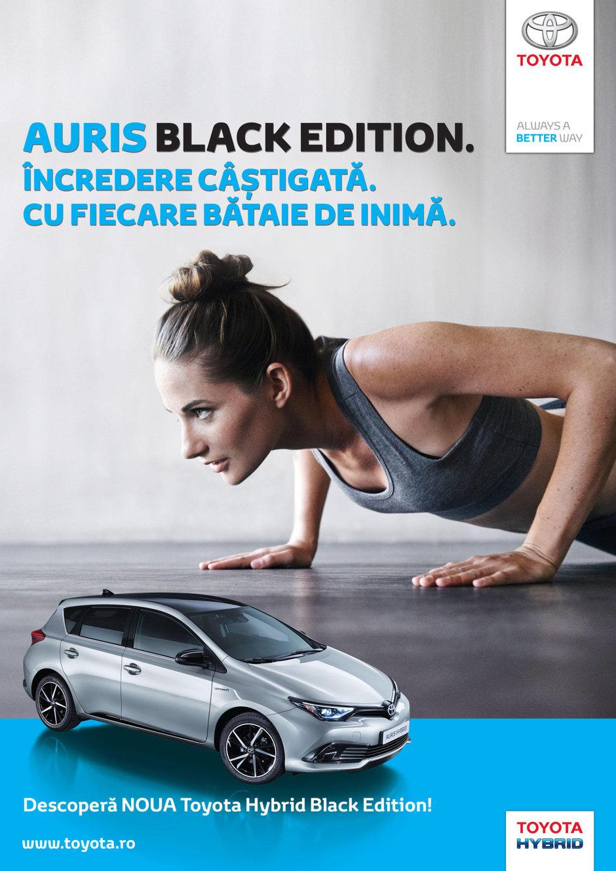 Toyota Auris Black Edition