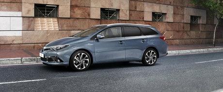 Toyota Auris facelift vine si cu motorizari noi