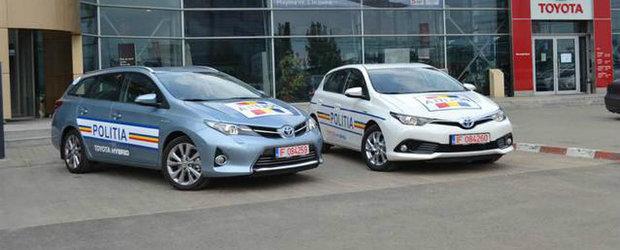 Toyota Auris Hybrid pentru Politia Rutiera a Capitalei
