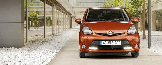 Toyota Aygo, Citroen C1 si Peugeot 107 au primit doar 3 stele la testele Euro NCAP