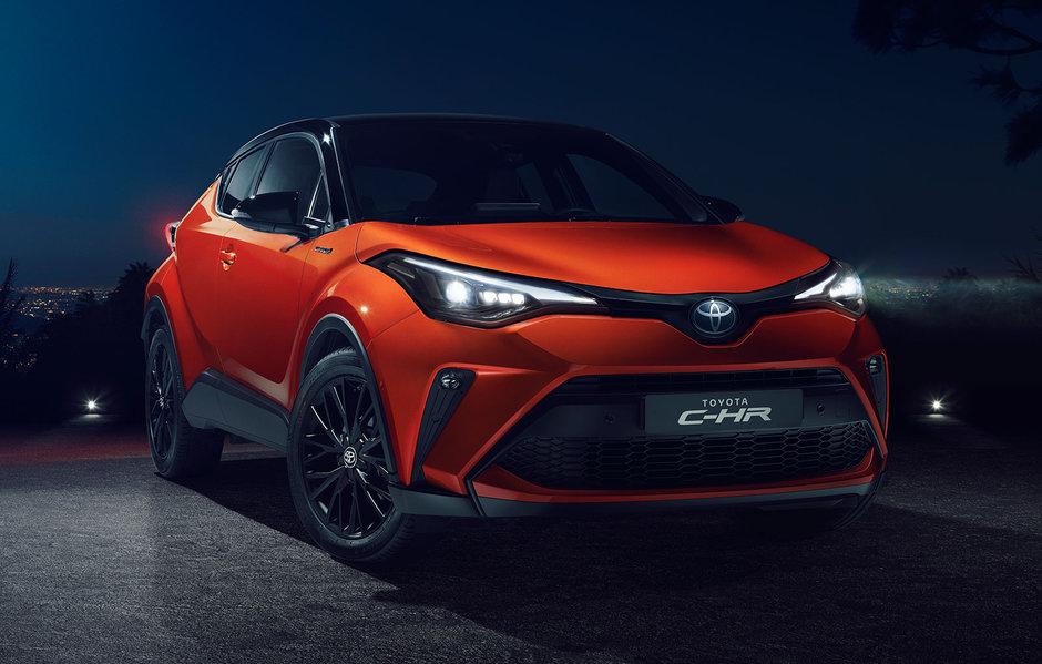 Toyota C-HR facelift