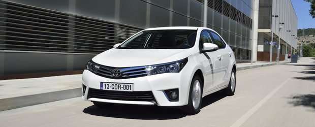 Toyota Corolla 2014 s-a lansat oficial in Europa