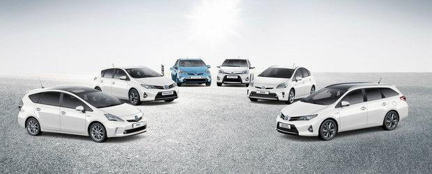 Toyota este lider in Romania la vanzarea de autoturisme cu propulsie hibrida