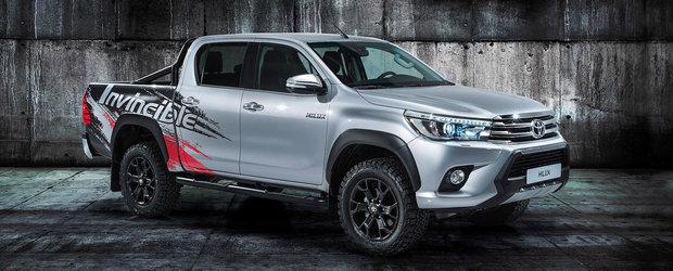 "Toyota Hilux celebreaza 50 de ani de indestructibilitate cu editia speciala ""Invincible 50"""