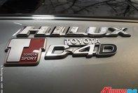 Toyota Hilux TTE tunata de WRC