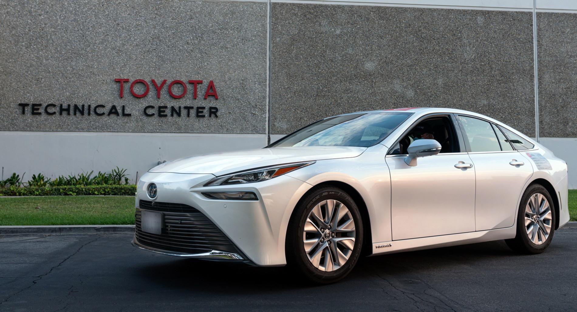 Toyota Mirai - Autonomie record - Toyota Mirai - Autonomie record