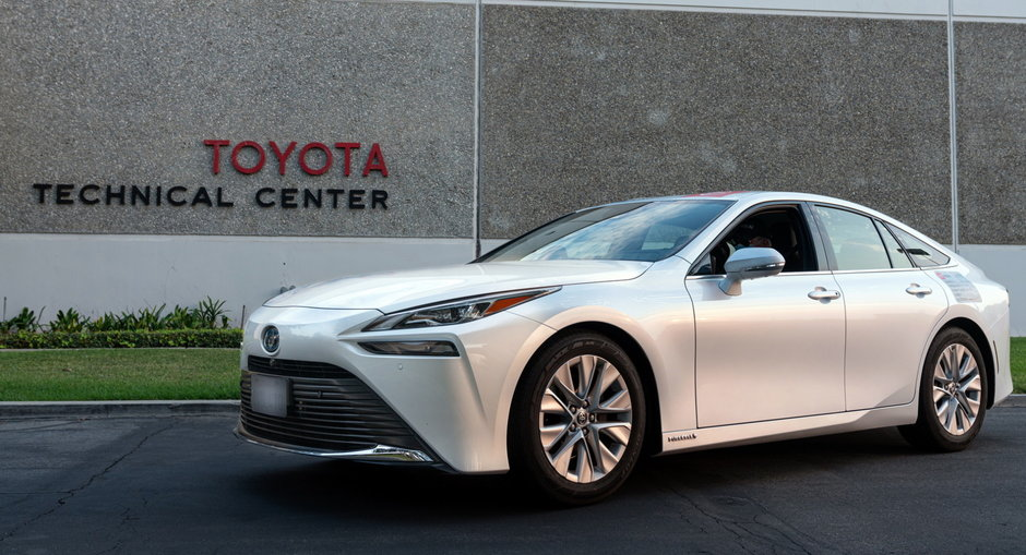 Toyota Mirai - Autonomie record