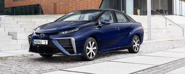 Toyota Mirai debuteaza in Europa cu o super-galerie foto