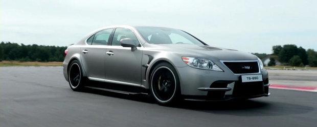 Toyota ne readuce aminte de extremul Lexus LS TMG Sports 650