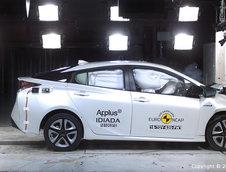 Toyota Prius, Hyundai Ioniq si Volkswagen Tiguan testate la Euro NCAP