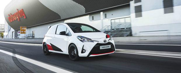 Toyota publica performantele noului Yaris GRMN: 212 cai , 6.3 secunde pana la suta si 1134 de kilograme