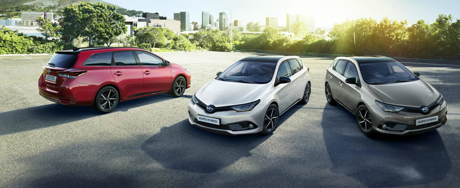 Toyota revitalizeaza gama Auris cu noua editie speciala Bi-Tone
