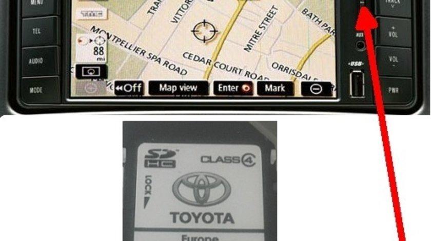 Toyota SD Card Harta Navigatie TNS 510 EUROPA + ROMANIA 2020/2021 V1