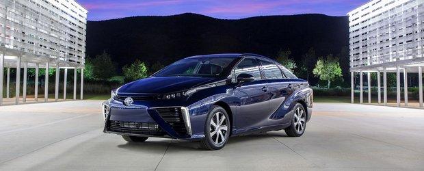 Toyota se pregateste sa lanseze in 2019 o noua masina de familie pe hidrogen