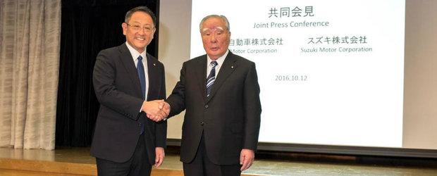Toyota si Suzuki isi unesc fortele impotriva rivalilor din Europa si Statele Unite