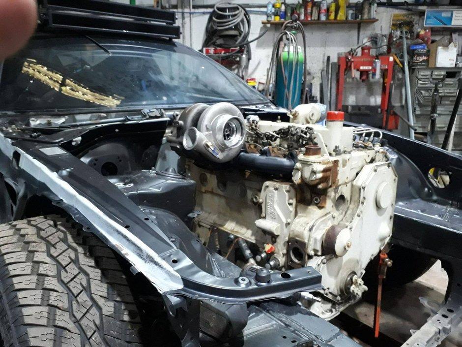 Toyota Supra cu motor diesel