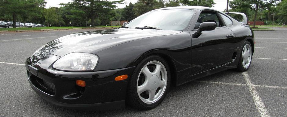 Toyota Supra cu motor turbo, cutie manuala si kilometri putini. Uite cu cat se vinde