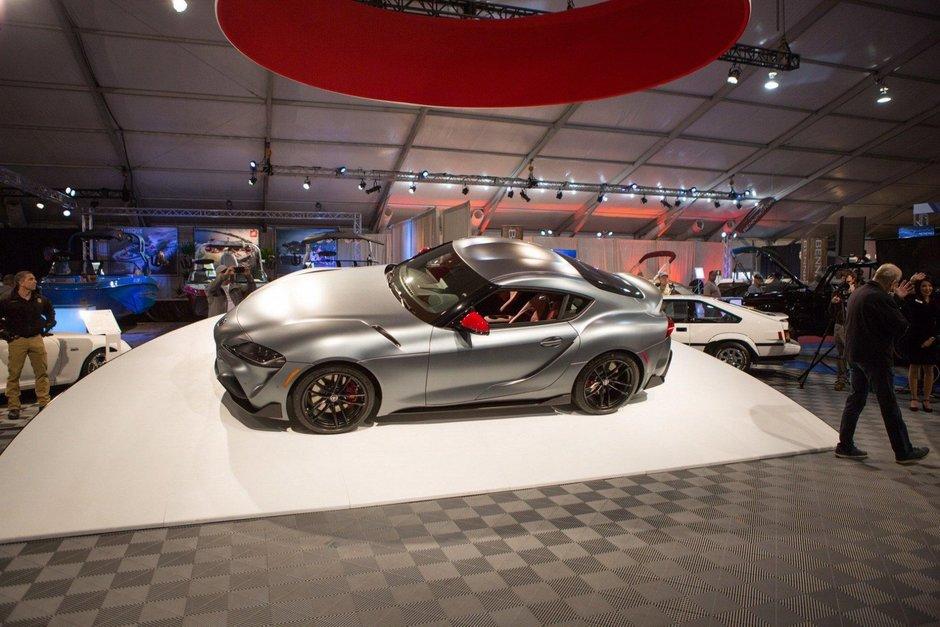 Toyota Supra cu seria de sasiu 20201