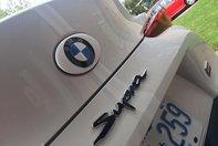 Toyota Supra cu sigle BMW