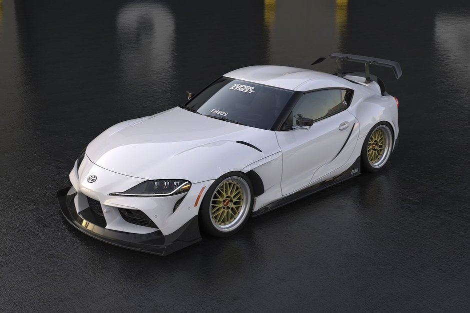 Toyota Supra EVS Widebody