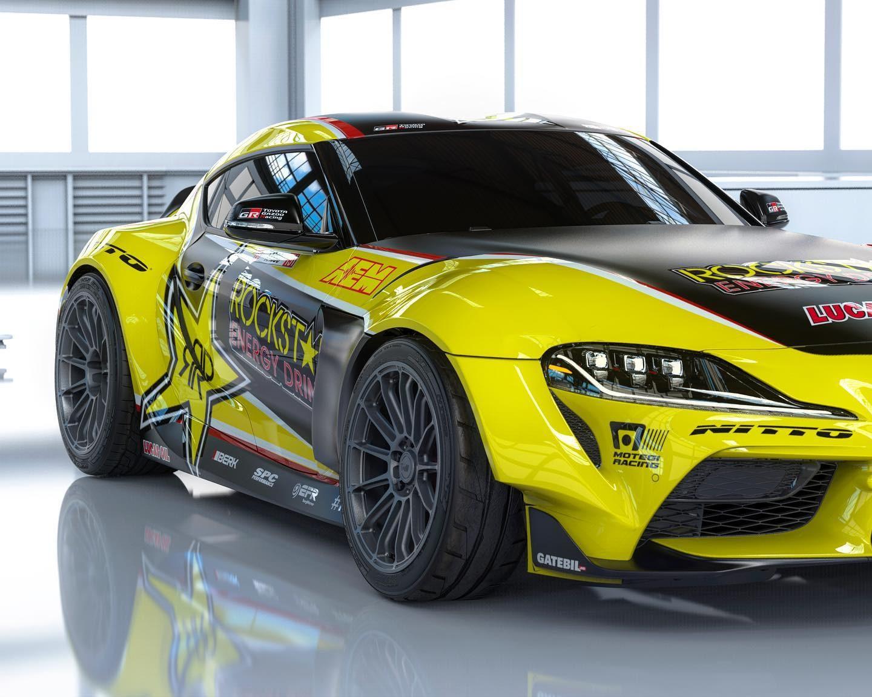 Toyota Supra Papadakis Racing - Toyota Supra Papadakis Racing