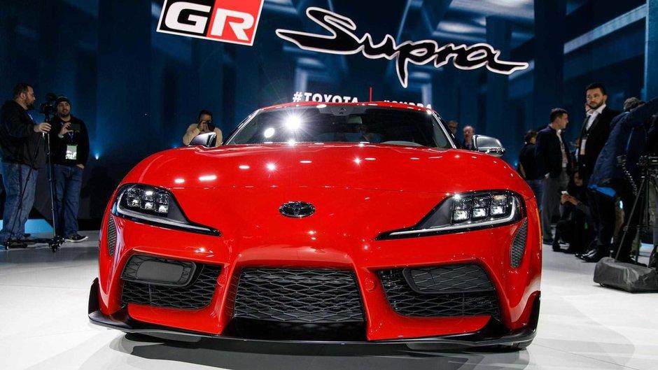 Toyota Supra - Poze reale