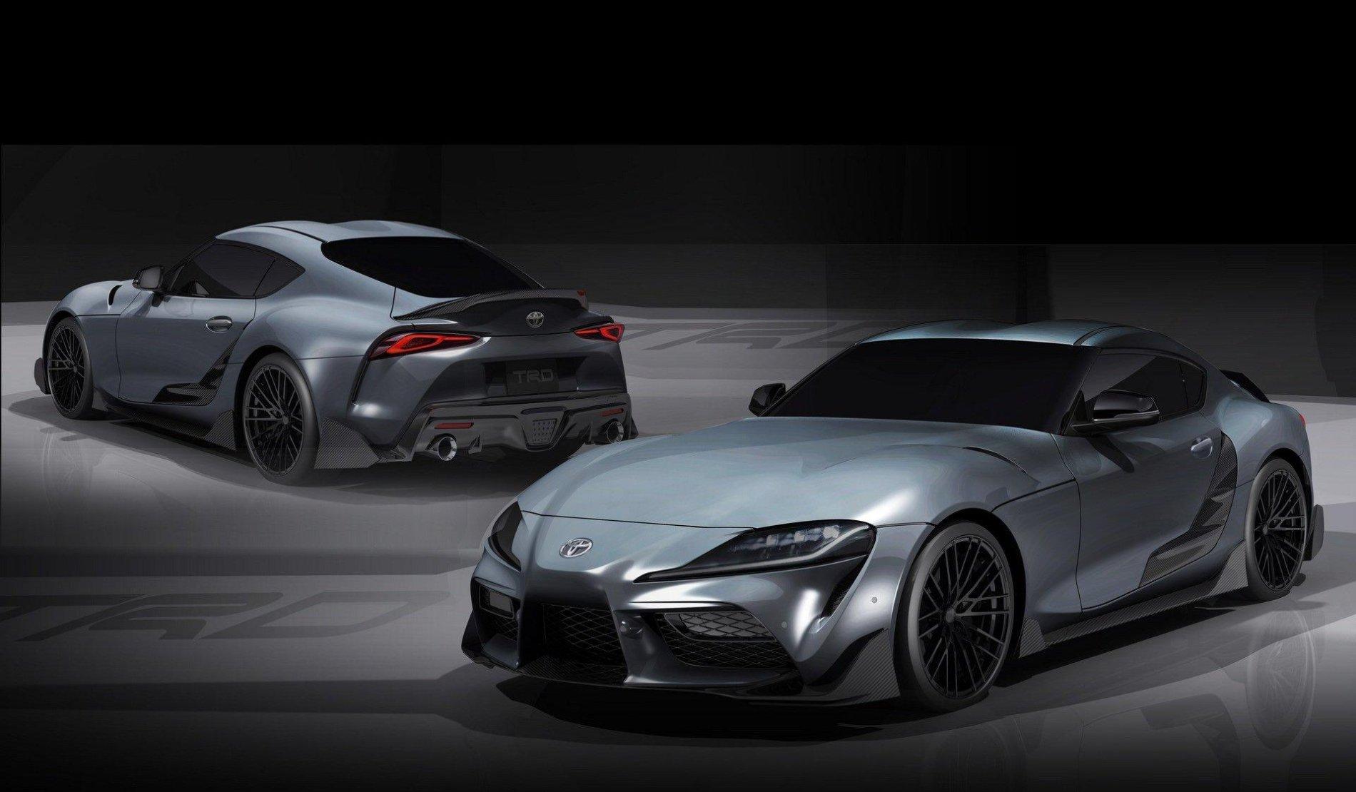 Toyota Supra TRD Performance Line - Toyota Supra TRD Performance Line