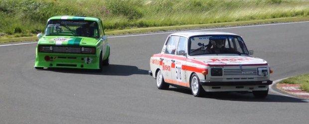Trabant vs. Wartburg vs. Lada pe circuit. Ce masina comunista e mai rapida?