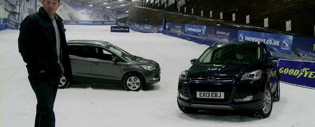 Tractiune integrala vs anvelope de iarna: care-i alegerea ideala pentru zapada?