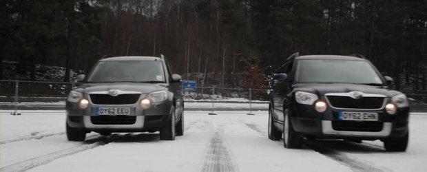 Tractiune integrala vs. anvelope de iarna: Ce-i mai bun pentru zapada?