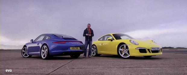 Tractiune spate sau integrala? 911 Carrera S vs 911 Carrera 4S
