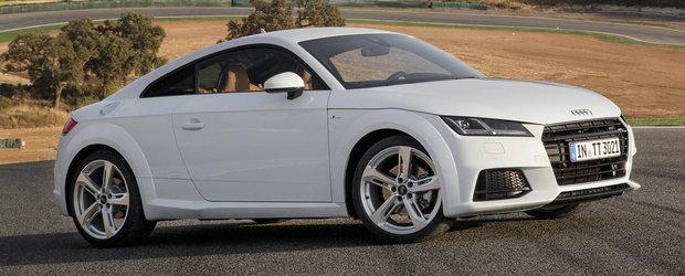 Tractiunea integrala Quattro este disponibila de acum si pe Audi-ul TT diesel