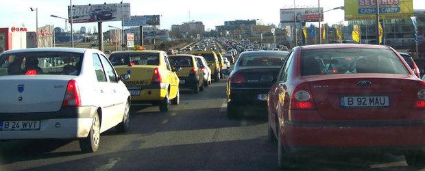 Traficul auto pe Centura Bucuresti, restrictionat pana pe 2 octombrie