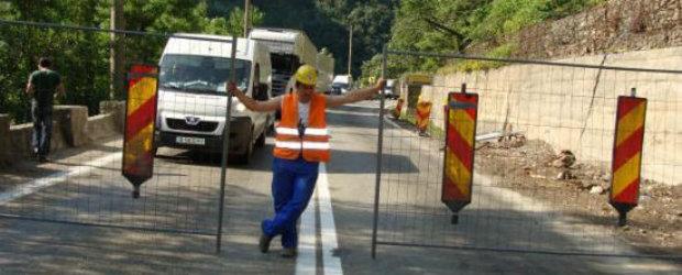 Traficul pe DN 7 Ramnicu Valcea - Sibiu va fi restrictionat timp de 3 saptamani