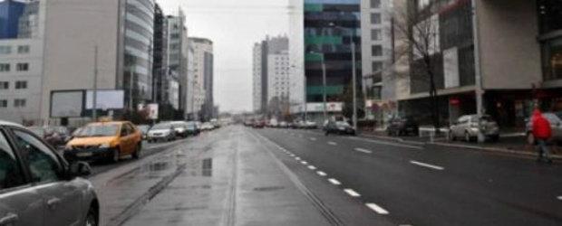 Traficul rutier pe strada Buzesti va fi deviat pana pe 30 septembrie