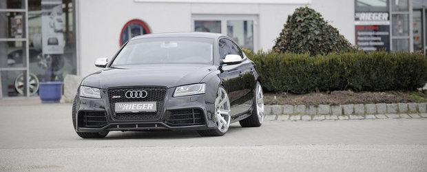 Transformarea unui Audi: De la A5 la RS5 Sportback